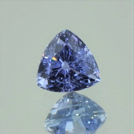 Saphir Trillion blau 1,49 ct