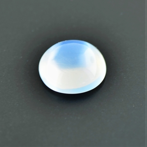 Moonstone cabochon round white 3.77 ct