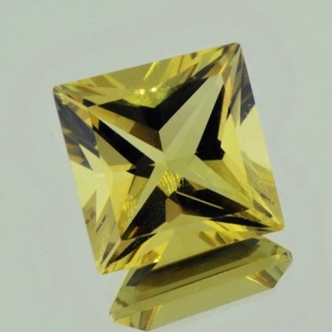 Citrine princess yellow untreated 34.68 ct