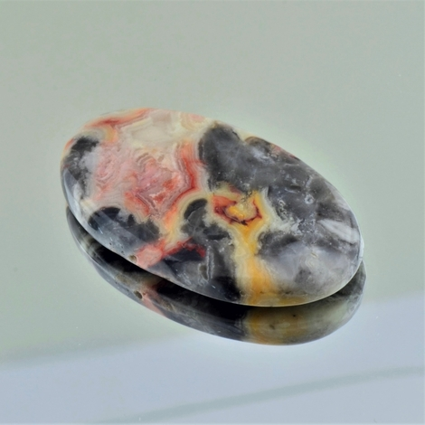 Jasper Cabochon oval multicolor 58.16 ct