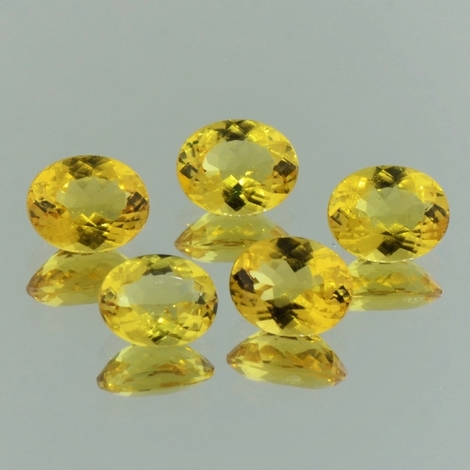 Goldberyll Lot oval 11,73 ct