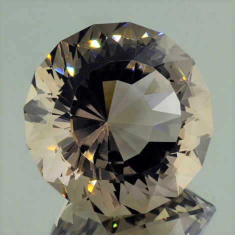 Smoky Quartz Rund-Design brown 257.36 ct