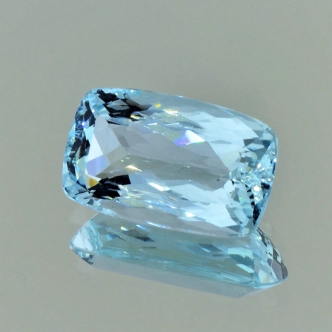 Aquamarin, Antik facettiert (11,26 ct.) aus Brasilien