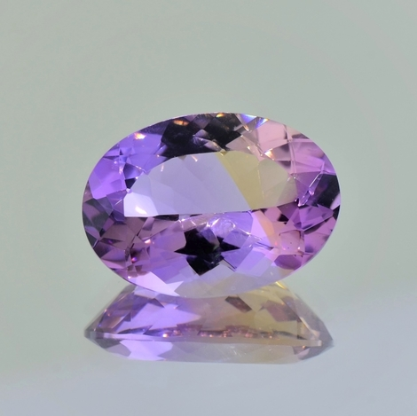Ametrine oval 16.72 ct.