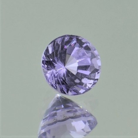 Spinel round lilac 1.17 ct