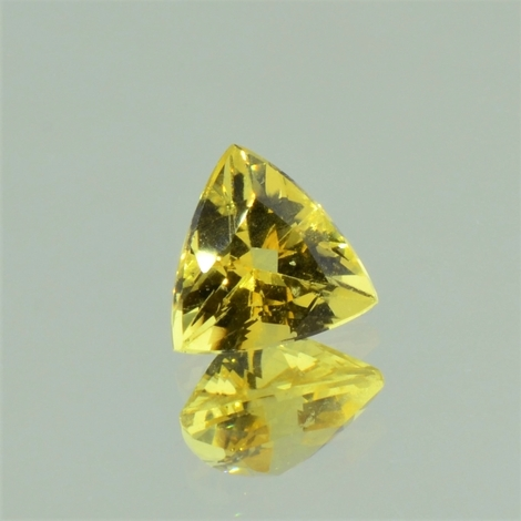 Goldberyll trillion gelb 2,17 ct