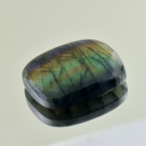 Labradorite cabochon cushion 60.95 ct