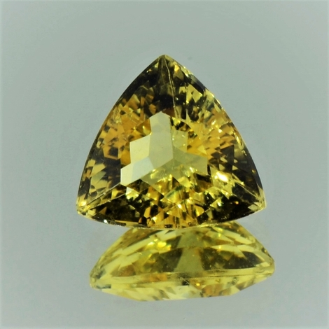 Golden Beryl trillion yellow 5.83 ct