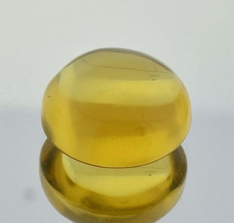 Lemon Quartz Cabochon round 26.90 ct