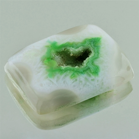 Agate Druse Cabochon rectangle 93.58 ct