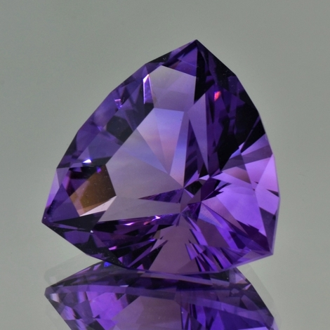Amethyst Design-Trillion violett 38,88 ct