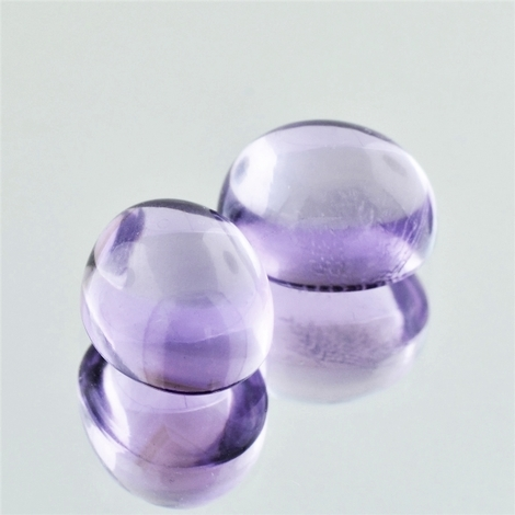 Amethyst Duo Cabochon oval 13,95 ct.