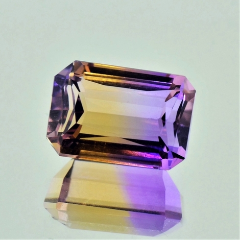 Ametrine octagon 10.09 ct