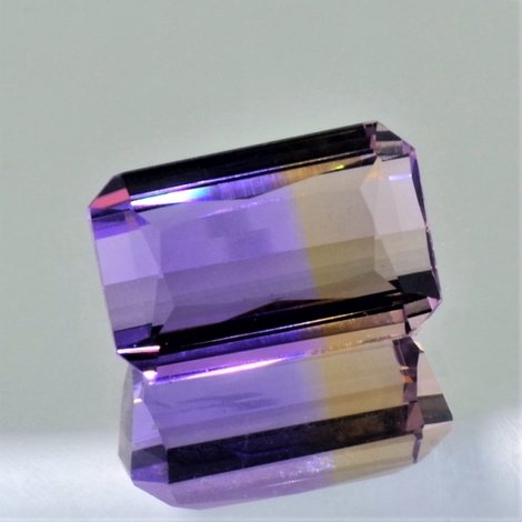 Ametrine octagon 10.21 ct