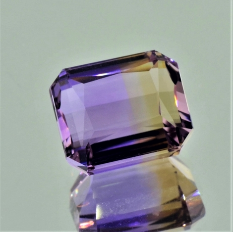 Ametrine octagon 10.67 ct