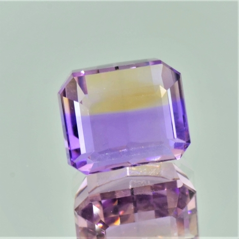 Ametrine octagon 7.37 ct