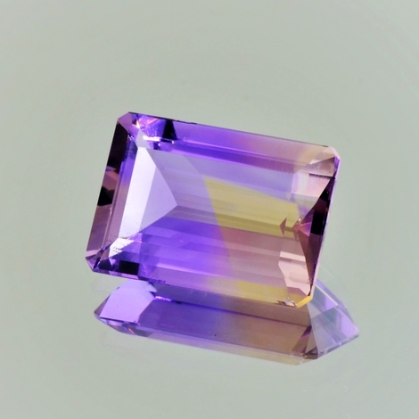 Ametrine rectangle 10.33 ct