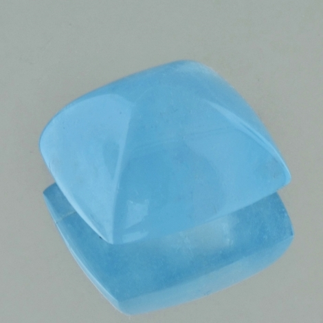 Aquamarin Cabochon antik sugarloaf 26,01 ct