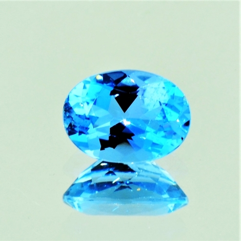 Aquamarine oval Santa-Maria 1.72 ct