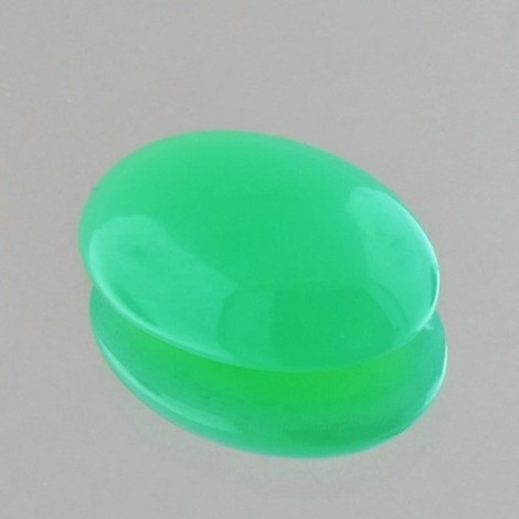 Chrysopras Cabochon oval 12,90 ct