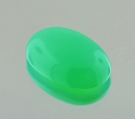 Chrysopras Cabochon oval 14,78 ct