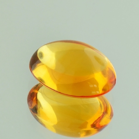 Citrin Cabochon oval orange 8,29 ct
