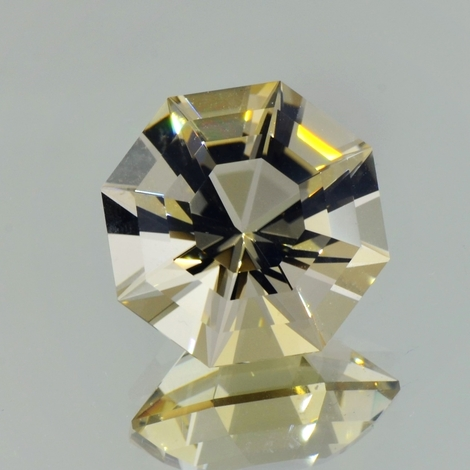 Citrine Design-Octagon unbehandlet 20.03 ct