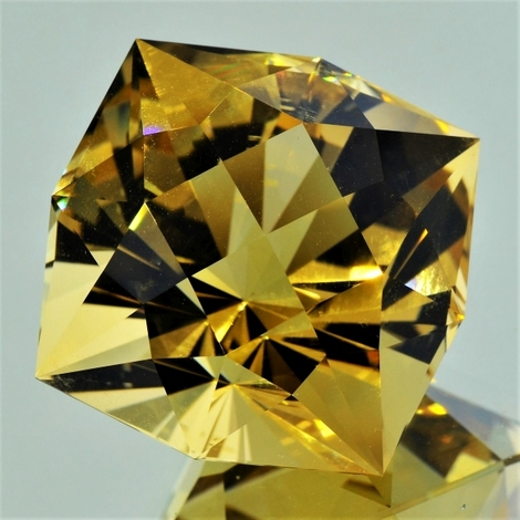 Citrine Designerschliff unheated 99.03 ct