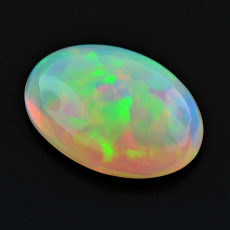 Edelopal Cabochon oval multicolor 23,44 ct