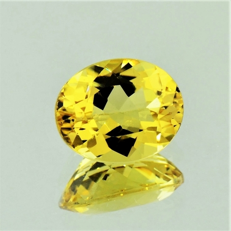 Goldberyll oval 1,7 ct