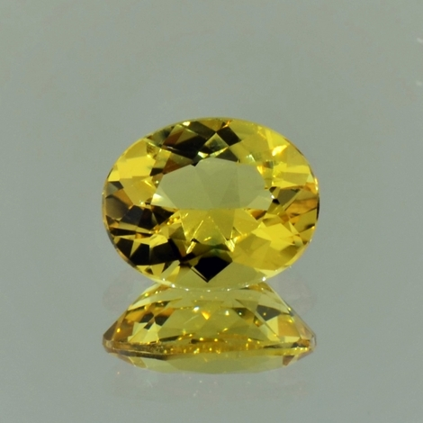 Goldberyll oval 2,38 ct