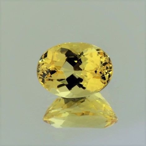 Goldberyll oval 3,21 ct