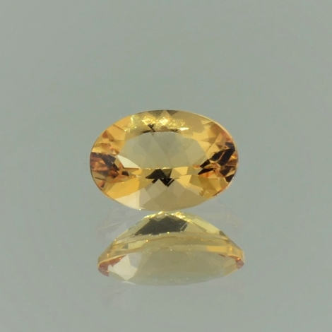 Imperial Topaz oval orange yellow 1.19 ct.