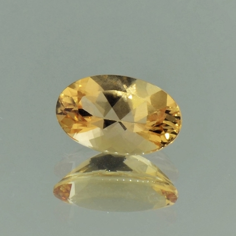 Imperial Topaz oval orange yellow 2.35 ct