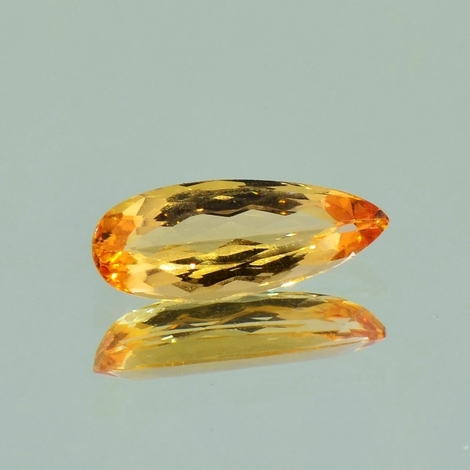 Imperial Topaz pear 2.32 ct