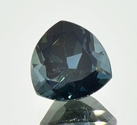 Indicolite Tourmaline trillion 10.07 ct
