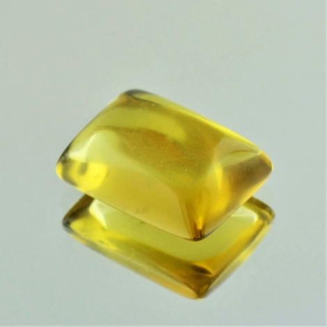 Lemon Quartz Cabochon Baguette 20.59 ct