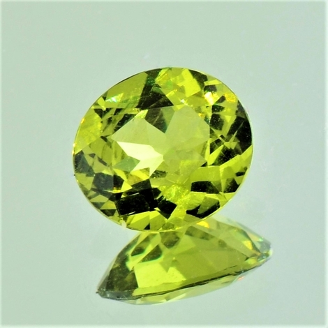 Mali-Granat, Oval facettiert (2,59 ct.) aus Mali (Sandare District)