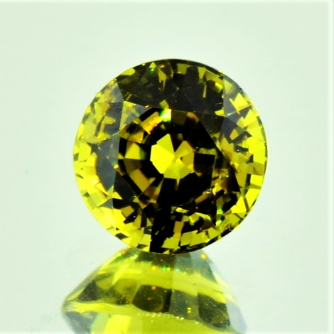 Mali-Granat, Rund facettiert (3,35 ct.) aus Mali (Sandare District)