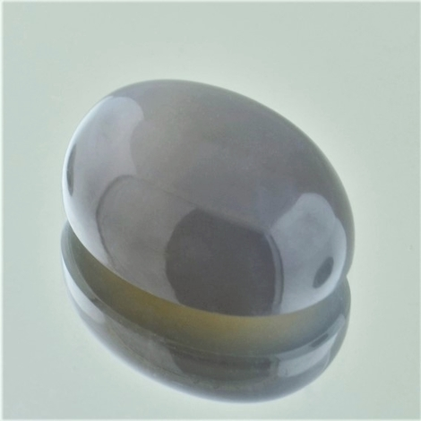 Moonstone cabochon oval gray 16.38 ct