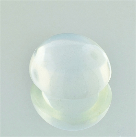 Moonstone Cabochon oval weiss-getönt 9.39 ct