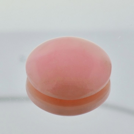 Common Opal round light pink 18.68 ct