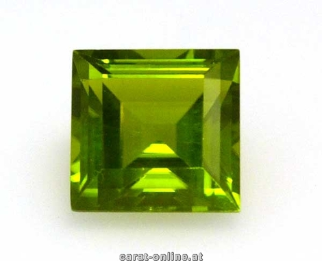 Peridot Carré 1,7 - 1,9 ct