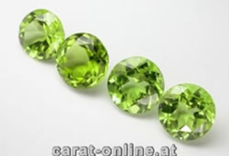 Peridot Lot round 8.0 ct