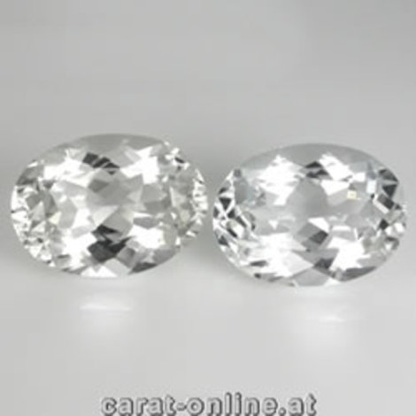 Petalit Duo Oval farblos 4,83 ct