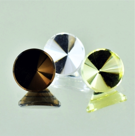 Quarz Trio rund-design 8,75 ct