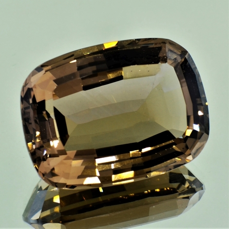Smoky Quartz cushion 119.61 ct