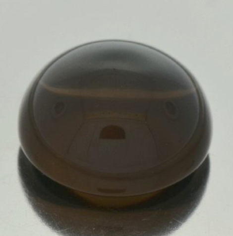 Smoky Quartz Cabochon round 56.24 ct