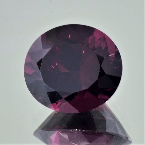 Rhodolith oval 17,46 ct