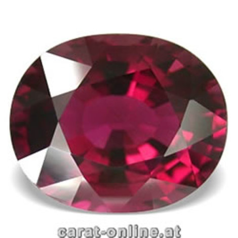 Rubellite Tourmaline oval 6.38 ct